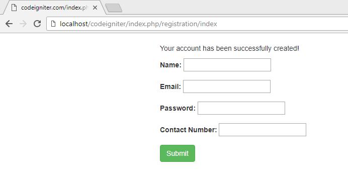 codeigniter create user registration form3